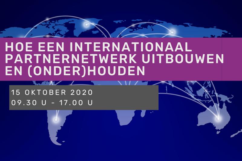 Hoe een internationaal partnernetwerk uitbouwen en (onder)houden