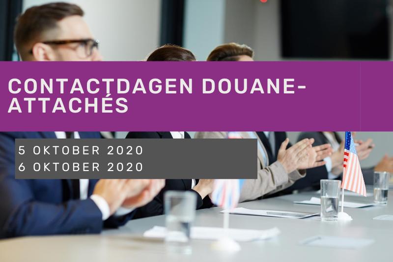 Contactdagen Douane-attachés