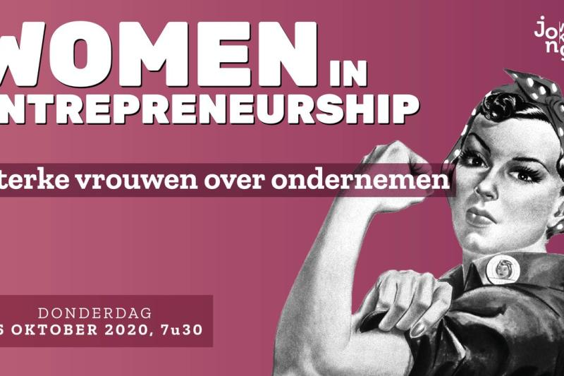 Jong Voka Vlaams-Brabant: Women in entrepreneurship