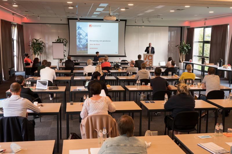100ste coronaproof activiteit Voka Kamer van Koophandel Limburg