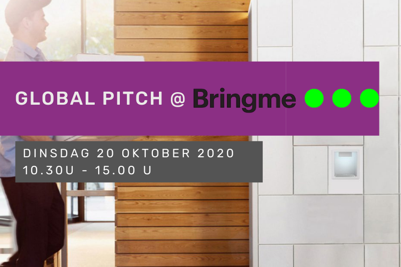 Global Pitch @ Bringme (Leuven)