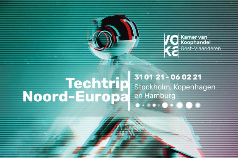 Techtrip 2021: Stockholm, Kopenhagen en Hamburg