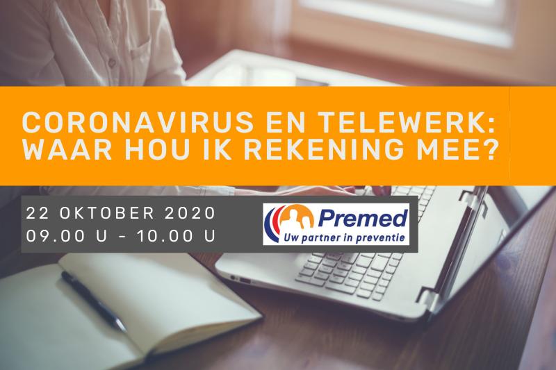 Coronavirus en telewerk: waar hou ik rekening mee?