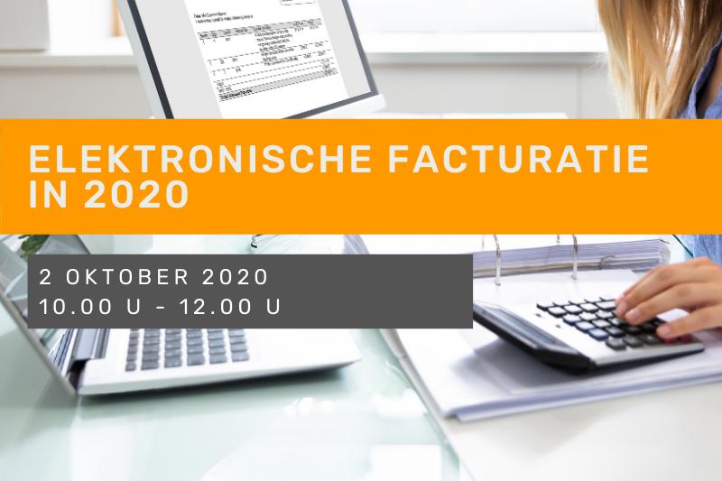 Elektronische facturatie in 2020