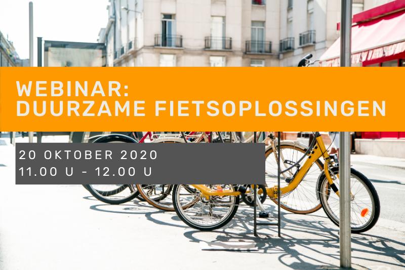 Webinar: Duurzame fietsoplossingen