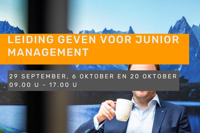 Leiding geven voor junior management
