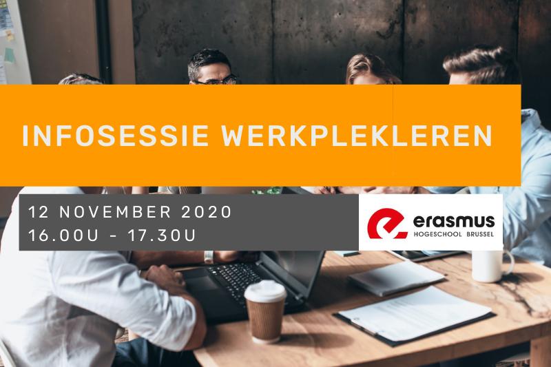 Infosessie Werkplekleren - Erasmushogeschool