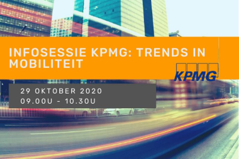 Infosessie KPMG: trends in mobiliteit