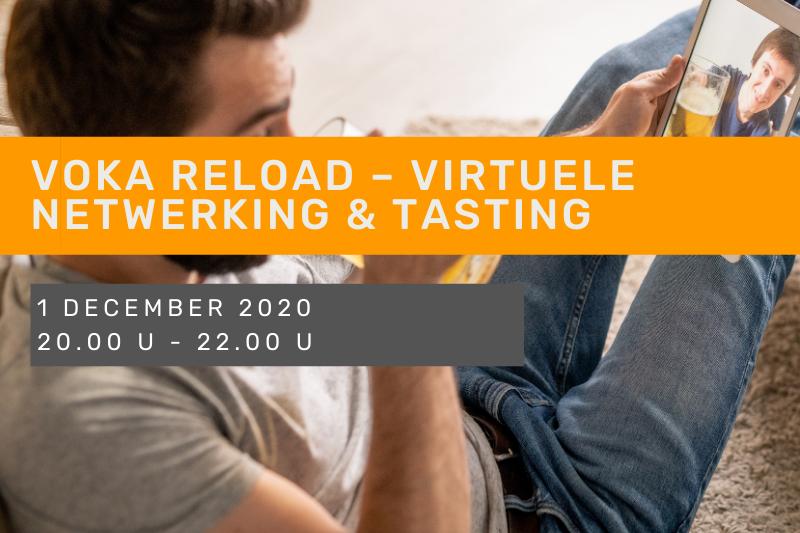 Voka Reload – Virtuele netwerking & tasting