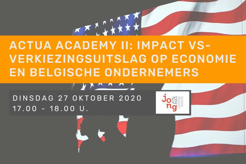 Actua Academy: wat is de impact van de verkiezingsuitslag in de VS op de economie en op Belgische ondernemers?