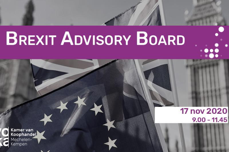 Brexit Advisory Board: één op één afspraken tussen bedrijven en experten over Brexit