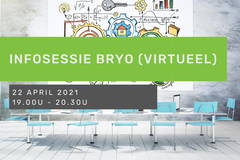 Infosessie Bryo (virtueel)