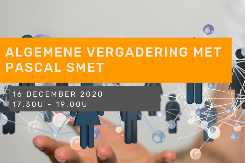 Algemene Vergadering met Pascal Smet