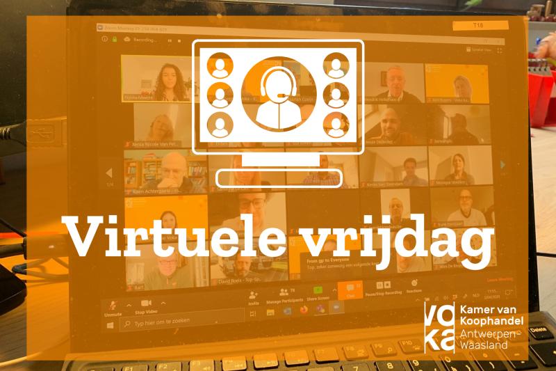 Virtuelee vrijdag cover