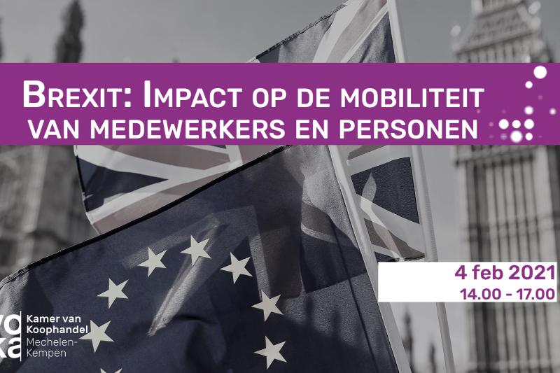 BREXIT: Impact op mobiliteit van medewerkers en personen