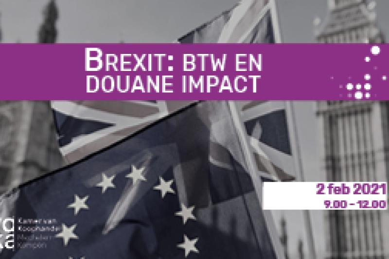 Brexit- BTW en douane impact