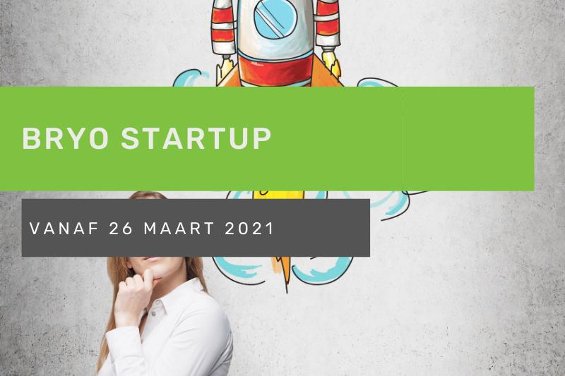 Bryo StartUp Vlaams-Brabant: Kick-off Maart 2021