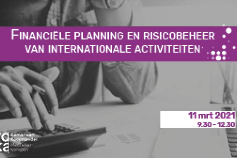 Financiële planning en risicobeheer van internationale activiteiten
