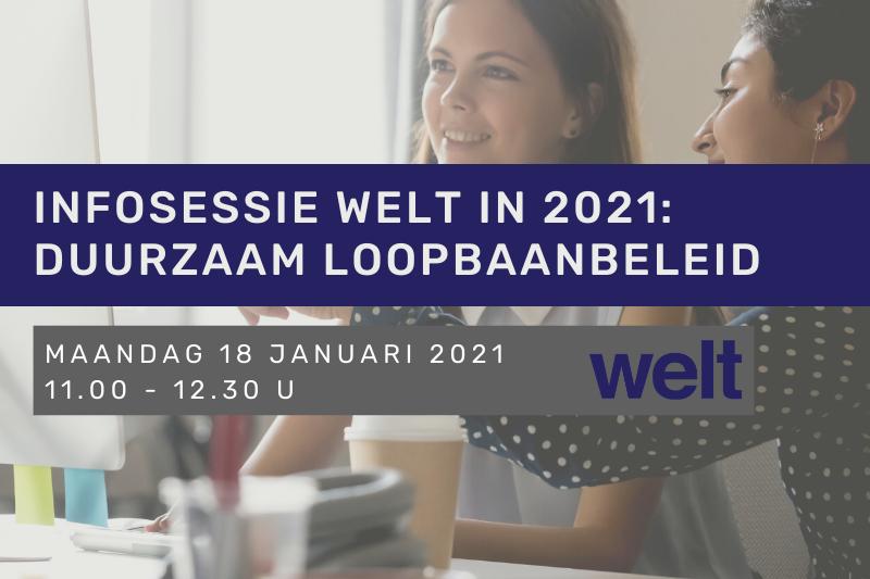 Infosessie Welt in 2021: Duurzaam loopbaanbeleid