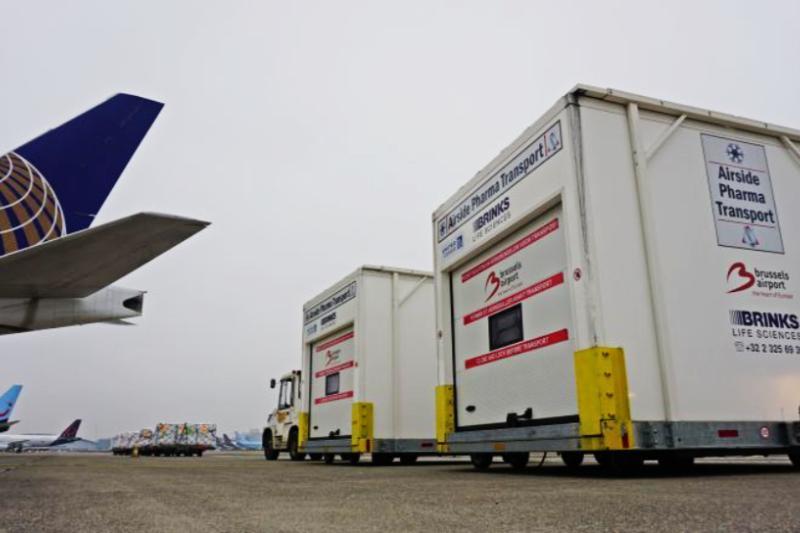 Cargo Brussels Airport kent boost door vaccinvluchten