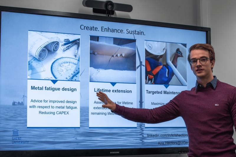 Innovatiecafé: Kris Hectors wint met doctoraat over levensduurverlenging van metaal