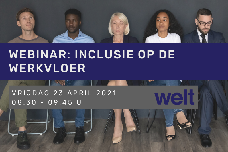Webinar: Inclusie op de werkvloer