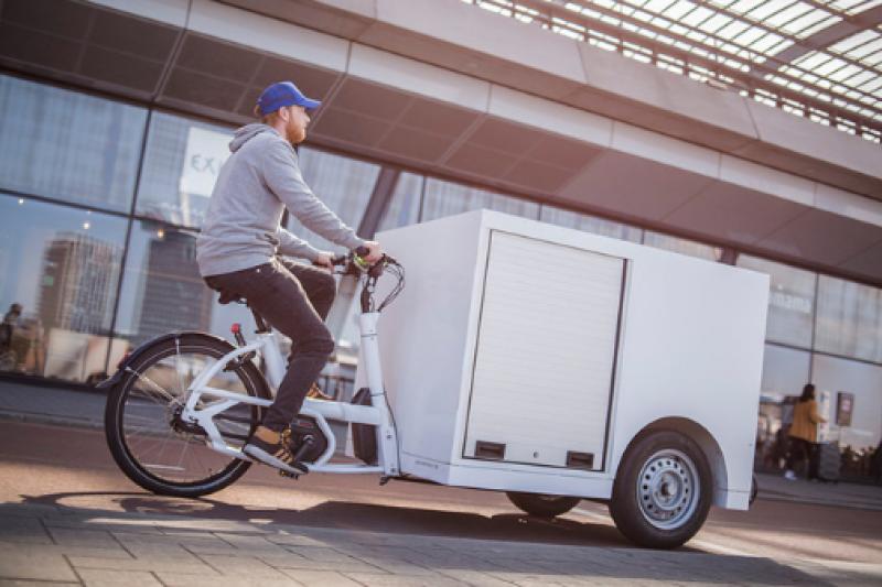 Leveringen in de stad? Cargobikes zijn efficiënt én duurzaam