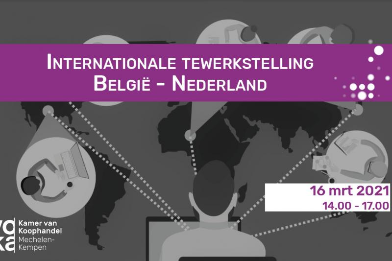 Internationale tewerkstelling België - Nederland