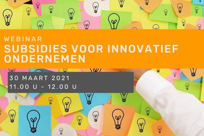 Subsidies innovatie