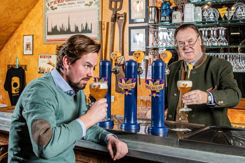 Bij familiebrouwerij Malheur kijken acht generaties mee over de schouders