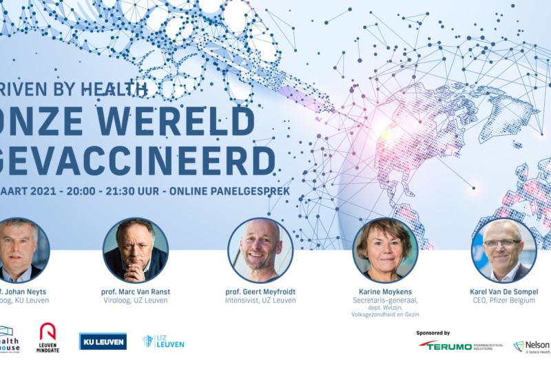 (Partnerevent) Driven By Health: Onze wereld gevaccineerd
