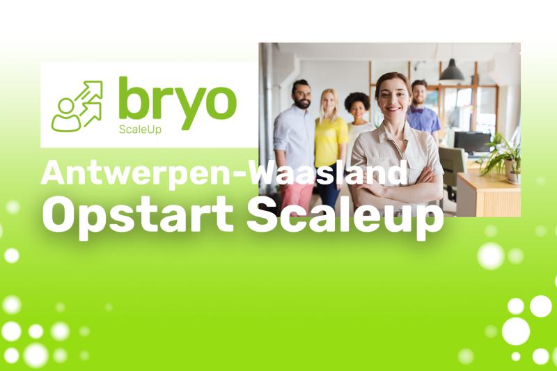 Bryo ScaleUp (Antwerpen-Waasland) 2021