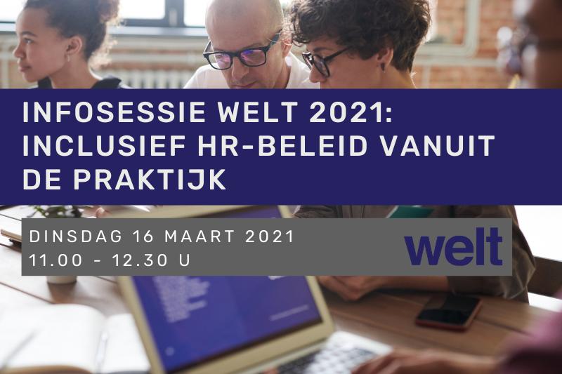 Infosessie Welt 2021: Inclusief hr-beleid vanuit de praktijk