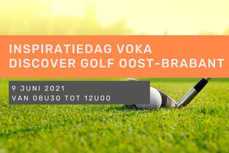 Inspiratiedag Voka Discover Golf Oost-Brabant