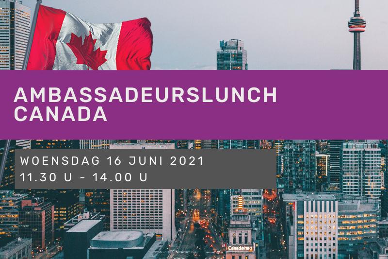 Ambassadeurslunch Canada