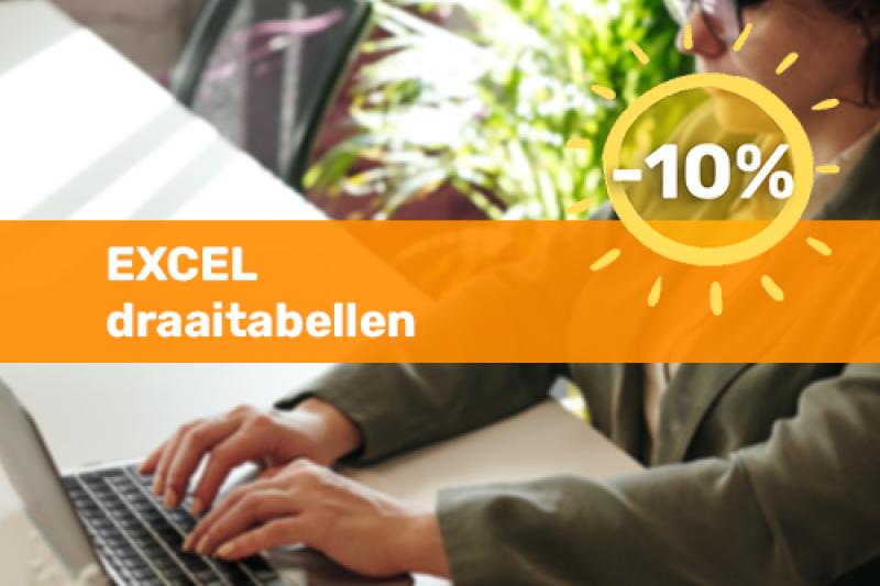 Voka Boost je Zomer Opleiding Excel draaitabellen