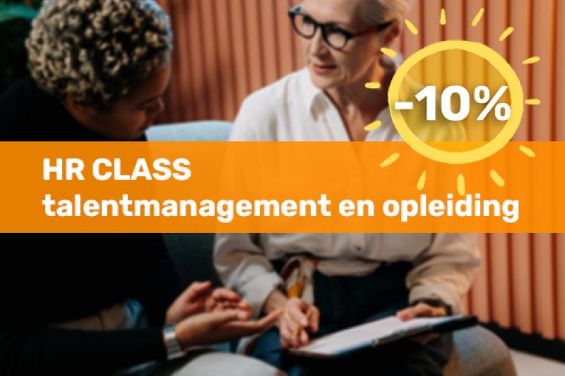 HR class: Talentmanagement en opleiding