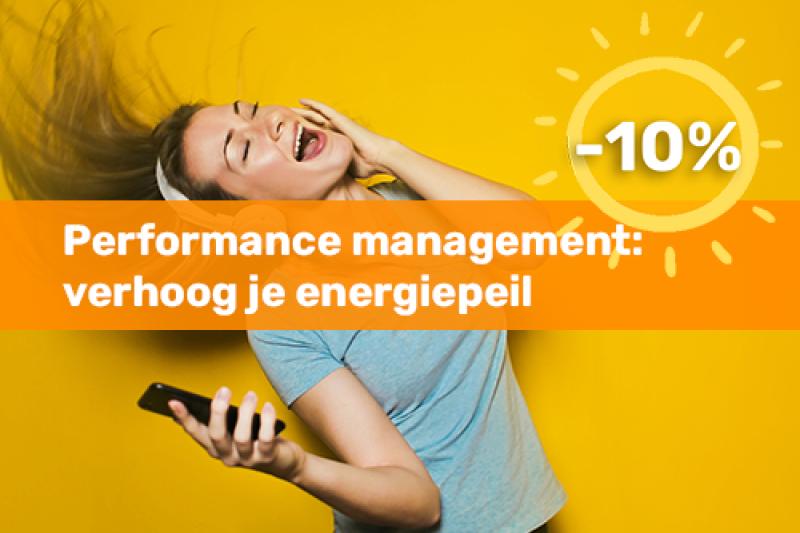 Voka Boost je Zomer Opleiding Performance management: verhoog je energiepeil