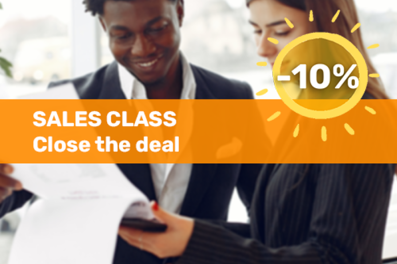 Voka Boost je Zomer Sales Class Close the deal