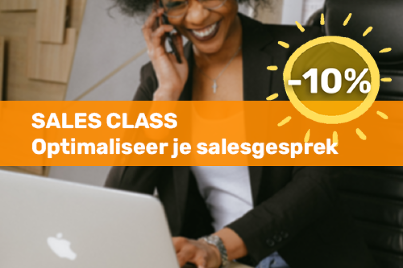 Voka Boost je Zomer Sales class - Optimaliseer je salesgesprek
