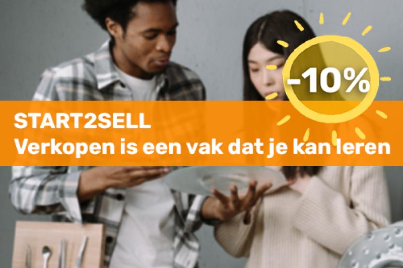 Voka Boost je Zomer Start2Sell: verkopen is een vak dat je kan leren