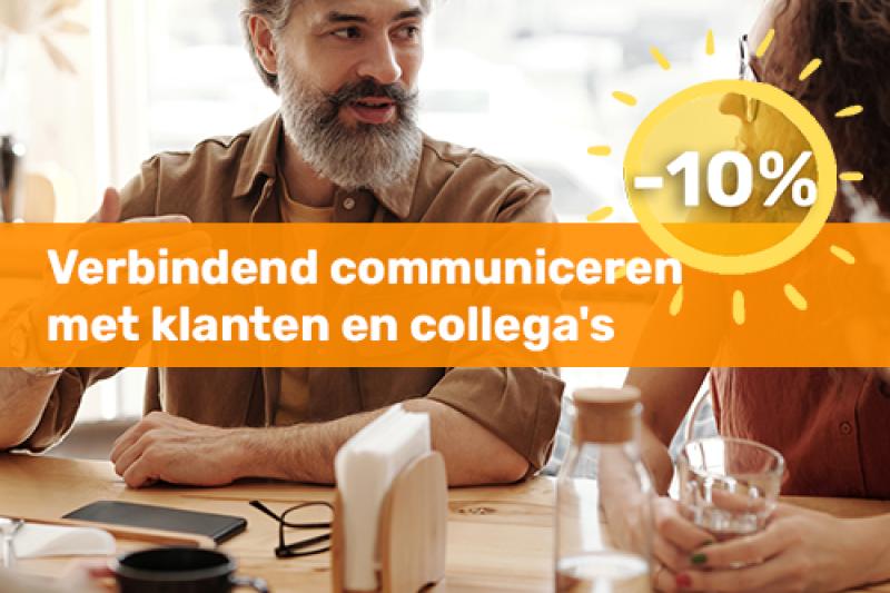 Voka Boost je Zomer Opleiding Verbindend communiceren met klanten en collega's