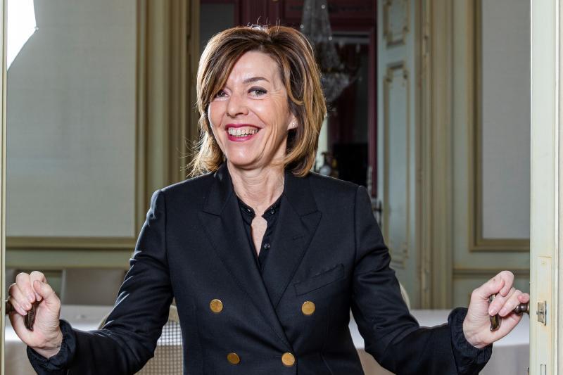 Interview met Carina Van Cauter, de eerste vrouwelijke gouverneur van Oost-Vlaanderen