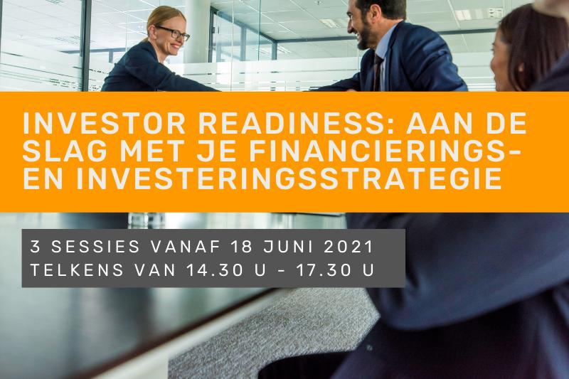 Investor Readiness: aan de slag met je financierings- en investeringsstrategie