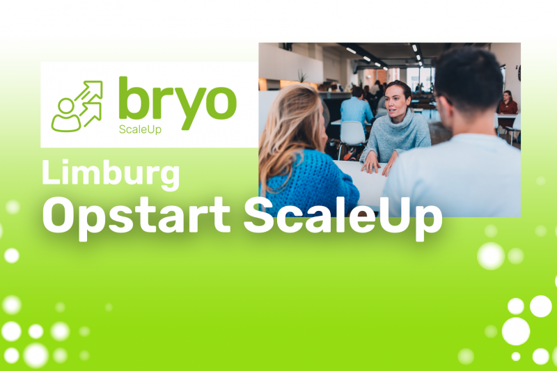 opstart bryo ScaleUp Limburg 2021