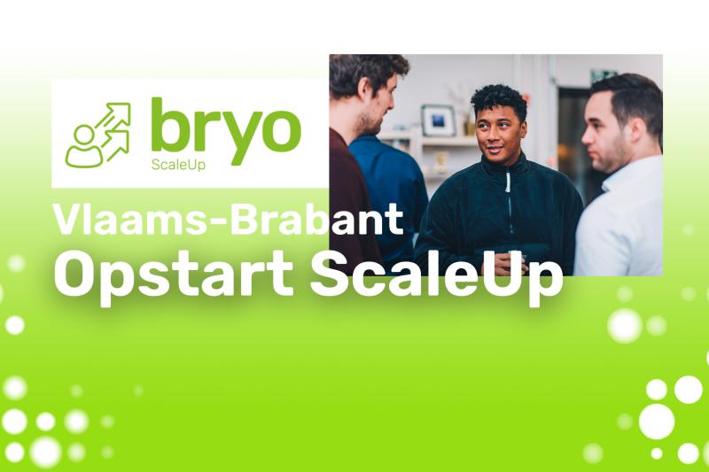 opstart bryo ScaleUp Vlaams-Brabant 2021