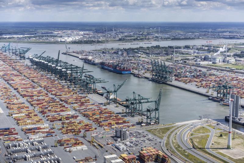 Haven Antwerpen groeit