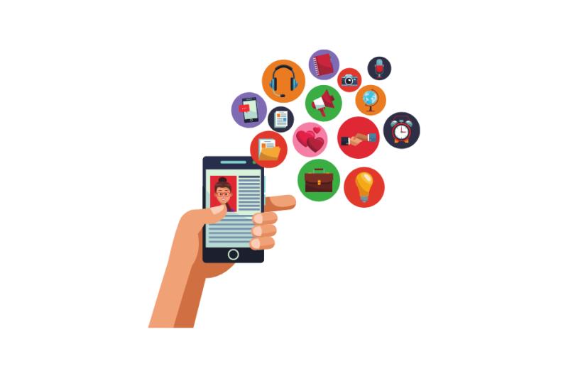 Digital Marketing Lab: social media content