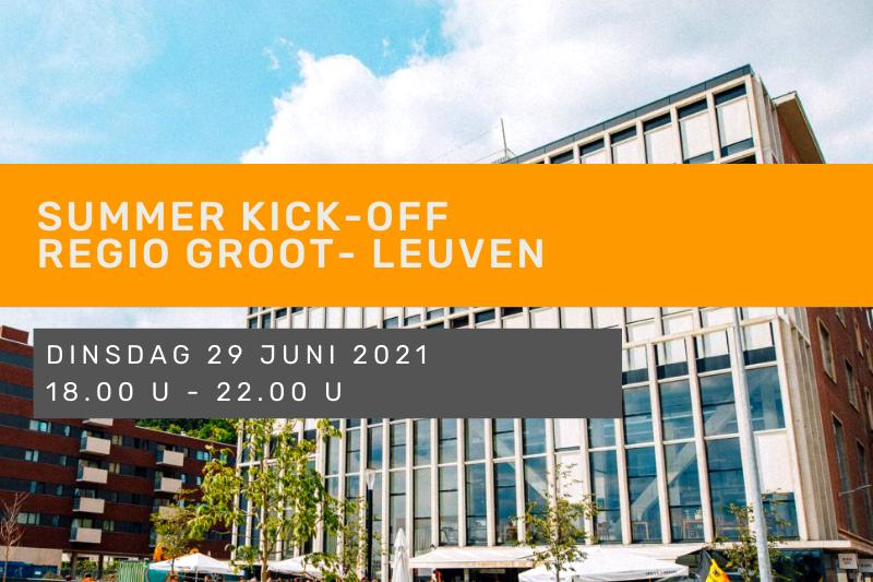 Summer Kick-off - Regio Groot-Leuven