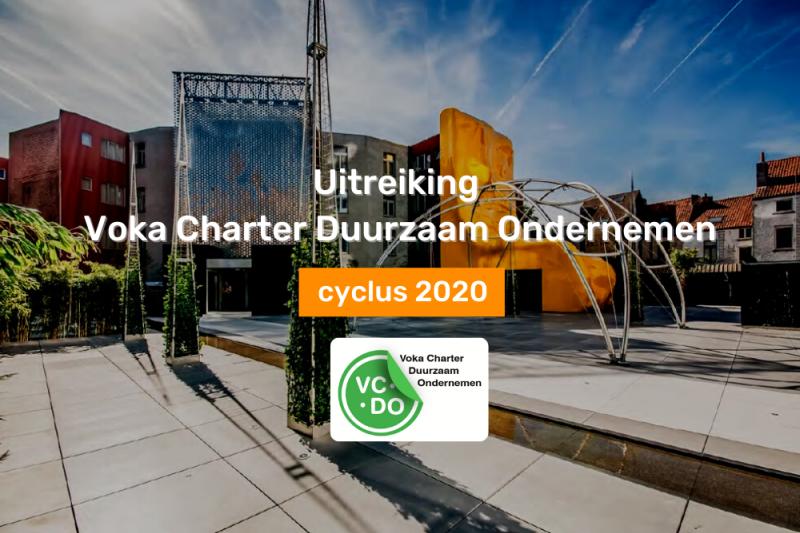 Uitreiking Voka Charter Duurzaam Ondernemen